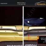 Защита заднего бампера Renault Sandero Stepway 2014+/арт.245-49