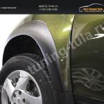 Накладки на крылья Renault Duster 2016+