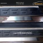 Накладки на пороги (шлифованные или зеркальные или декоративные ) Volkswagen Touareg 2014+