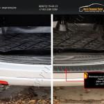 Накладка на задний бампер Ford Fusion 2004-2012/арт.807-2