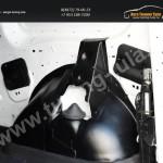 Обшивка внутренних колесных арок грузового отсека Lada Largus фургон 2012+/