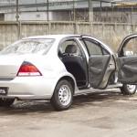 Накладки на внутренние пороги дверей Nissan Almera Classic 2007-2012