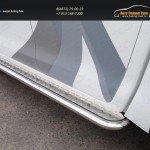 Пороги с площадкой 60,3 мм Toyota Hilux 2015