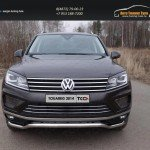 Защита передняя нижняя (кенгурин) 60,3 мм Volkswagen Touareg 2014+