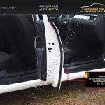 Накладки на внутренние пороги дверей Skoda Rapid 2012+
