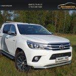 Защита передняя нижняя 76,1 мм Toyota Hilux 2015 /арт.820-2