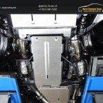 Защита радиатора+Защита картера+Защита КПП+Защита раздаточной коробки TOYOTA LC 200 2015+