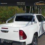 Защита кузова 76,1 мм Toyota Hilux 2015 /арт.820-5