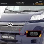 Зимняя заглушка решетки радиатора Citroen Jumper 2006-2013 (250 кузов