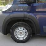 Расширители колесных арок Citroen Jumper 2006-2013 (250 кузов)+Fiat Ducato 2012-2013(250 кузов)+Peugeot Boxer 2006-2013 (250 кузов)
