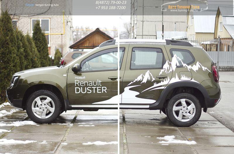 Расширители колесных арок Renault Duster 2015+/арт.710-11
