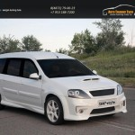 Обвес тюнинг Lada Largus 2012+