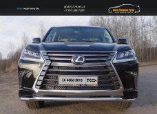 Защита передняя нижняя 60,3 мм Lexus LX 450d 2015+/арт.670-29