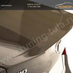 Лип спойлер на крышку багажника Kia-Rio 2011+