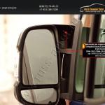 Накладки на зеркала вариант 2 Ситроен Jumper 2006+/Пежо Boxer 2006+/Фиат Ducato 2012+/арт.654-17
