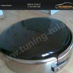 Бокс (чехол) запасного колеса из нержавеющей стали Suzuki GRAND VITARA 2005