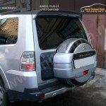 Бокс (чехол) запасного колеса из нержавеющей стали Mitsubishi Pajero IV