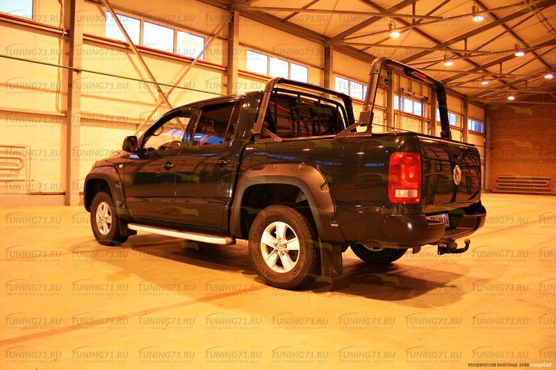 Расширители колесных арок 4 шт 70 мм Volkswagen Amarok 2010+/арт.27-7