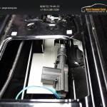 Крышка кузова (алюминий) и электро блокиратор замка заднего борта Mitsubishi L200 2015+