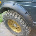 Расширители колесных арок 4 шт ВАЗ-2121 или 2131 Нива