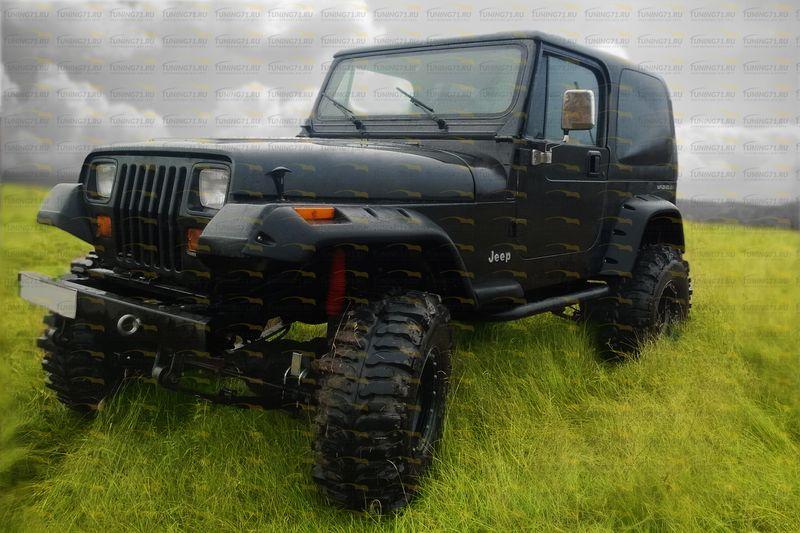 Расширители колесных арок 4 шт Jeep WRANGLER YJ/арт.27-14