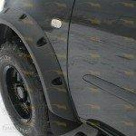 Расширители колесных арок 4 шт 70 мм Mitsubishi L200 NEW