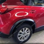 Mazda CX-5 2012- Расширители колесных арок +30мм АБС- пластик