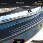 Накладка на задний бампер (Вариант 3) Renault Duster 2010-2014 NR-151602