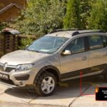 Молдинги на двери Renault Sandero Stepway 2014+