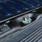 Защитная накладка на порог задних дверей Fiat Ducato 2012-2013(250 кузов)
