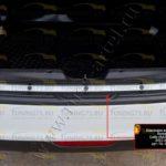 Накладка на задний бампер Lada (ВАЗ) Vesta 2015-