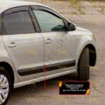 Молдинги на двери Volkswagen Polo V 2009-2015