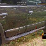 RN-060702 - Накладки на арки колес + молдинги дверей Nissan Terrano 2014-