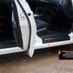 Накладки на внутренние пороги дверей Mazda 6 2015 NM-154102
