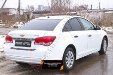 Накладка на задний бампер Chevrolet Cruze I 2012-2014 NC-154002