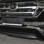 TLC 1501-Накладки на решетку в бампер Toyota LAND CRUISER 2015-