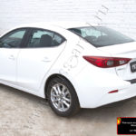Накладка на задний бампер Mazda 3 седан 2013-NM-154602