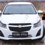 Накладки на передние фары (реснички) Chevrolet Cruze I 2012-2014 RECC-005600
