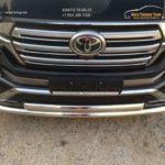LC 1601Передняя защита труба двойная70(42, эл75) Toyota LAND CRUISER - 200 EXECUTIVE BLACK/WHITE (2016 - по н.в.)