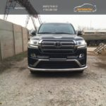 LC 1604 Передняя защита труба d70- Toyota LAND CRUISER - 200 EXECUTIVE BLACK/WHITE (2016 - по н.в.)