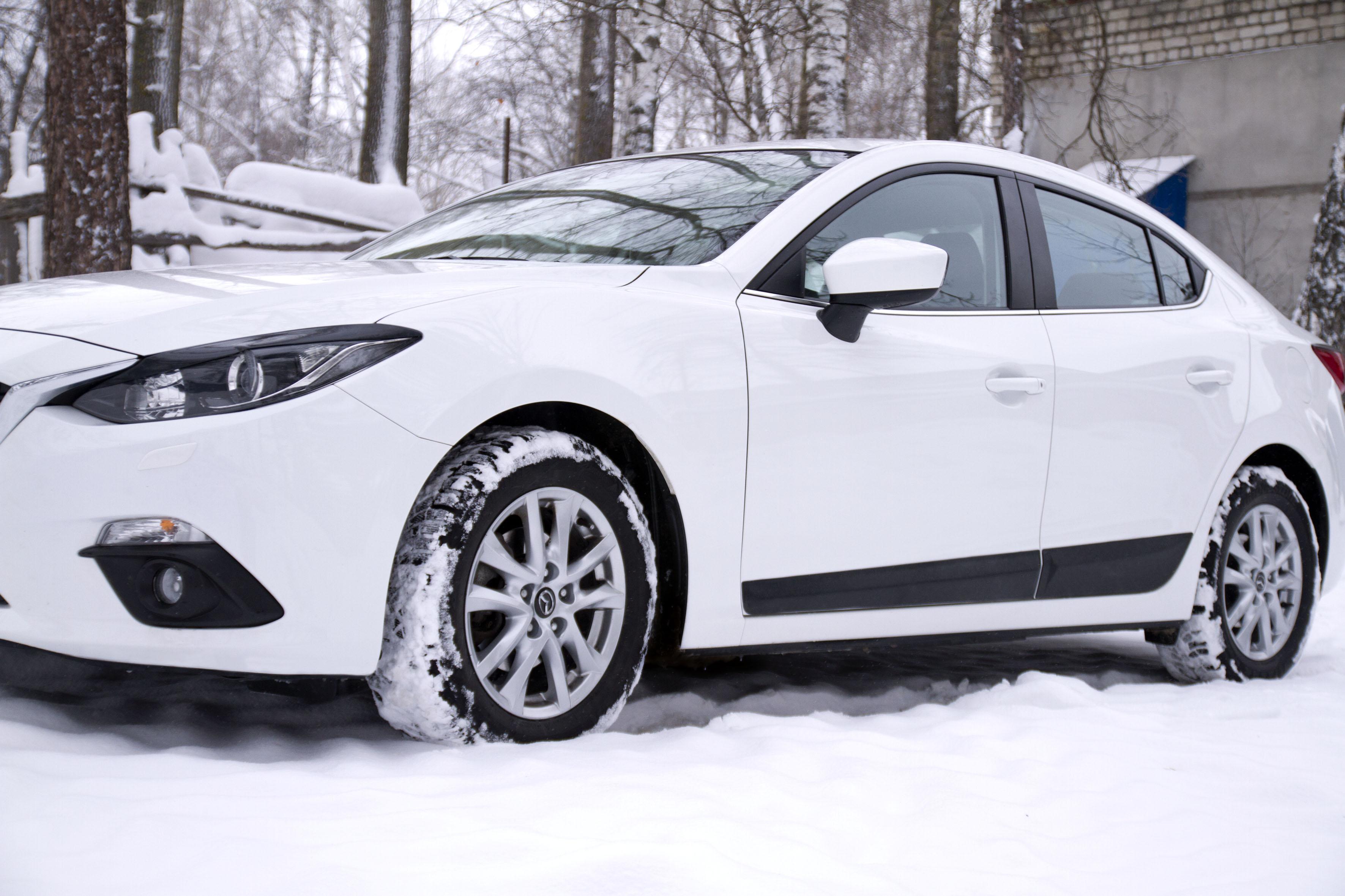 Молдинги на двери Mazda 3 седан 2013- MM-076300