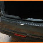 Накладка Лада Веста | LADA Vesta на задний бампер (АБС) Седан с 2016 арт.829-12
