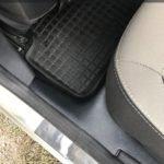 Тонельные (Центральные) накладки+Накладки на ковролин Рено Логан, Сандеро II 2014-   Renault Logan II 2014, Sandero II 2014- /арт.267-24