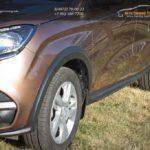 LADA Xray Cross обвес - расширители колёсных арок и накладки на пороги (АБС) LADA Xray (10 шт) с 2016 г.в. / арт.840