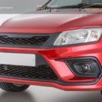 Бампер передний Xmug sport для Лада Гранта /Lada Granta /арт.291-1