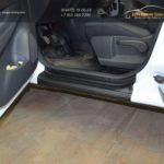 """Renault Kaptur 2016- Накладки в проемы передних и задних дверей """"КАРТ"""" для Рено Каптур ( 4шт.) / 829-7"""