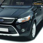 Накладки фар / Реснички 2шт Ford KUGA 2008-2013 /арт.844