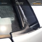 Накладка Жабо в проем дворников (Без Скотча) Renault Duster 2011-2018   Nissan Terrano (Артформ)/арт.847