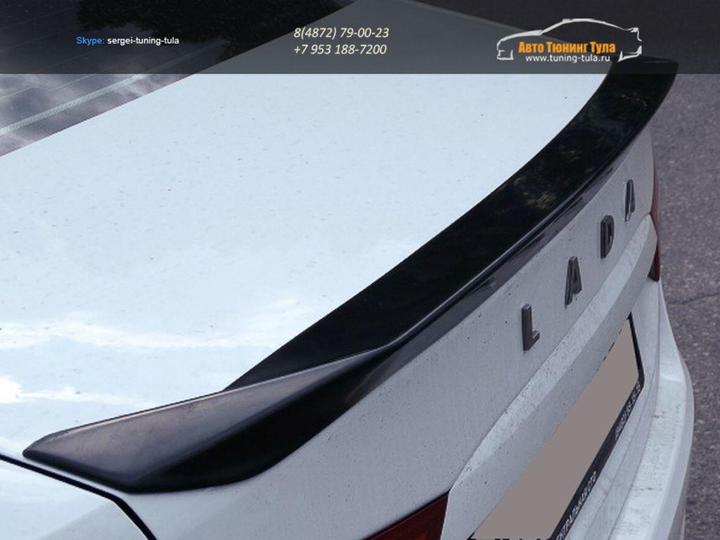 Лип спойлер багажника Stels для LADA Vesta / Веста седан /арт.860