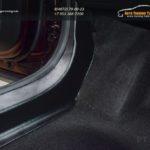 Накладки на ковролин порогов для Рено Аркана :: Renault Arkana 2019, 2020 / арт.856